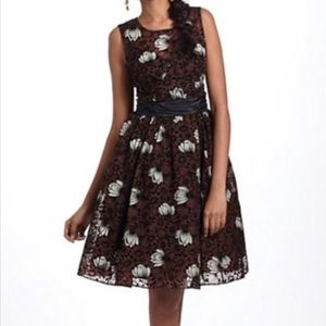🤎ANTHROPOLOGIE🤎TRACY REESE FROCK FLORAL DRESS🤎